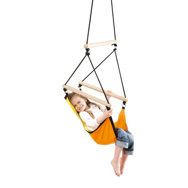 'Swinger' Yellow Children Hanging Chair