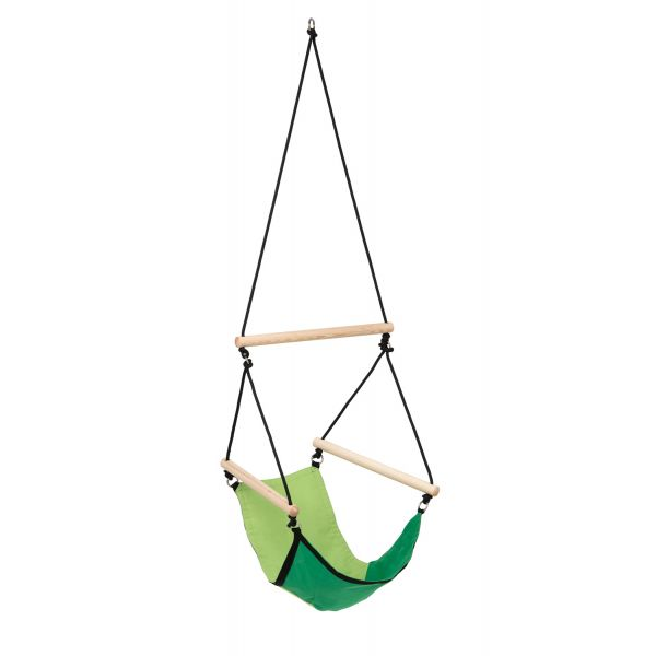 'Swinger' Green Children Hanging Chair