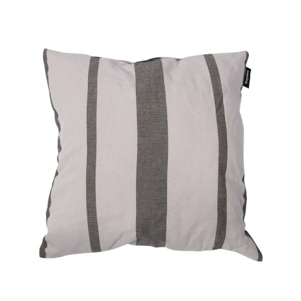 'Stripes' Silver Pillow