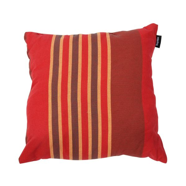 'Stripes' Terracotta Pillow