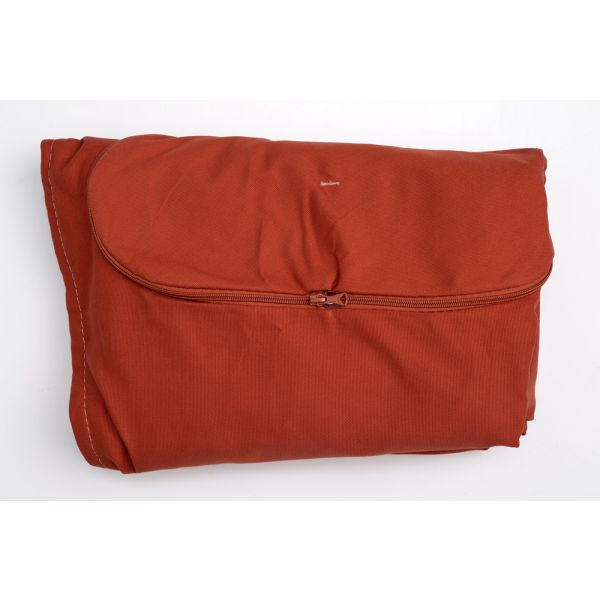 'Globo Royal' Terracotta Pillowcase