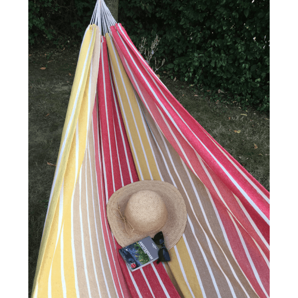 'Barbuda' Earth Double Hammock