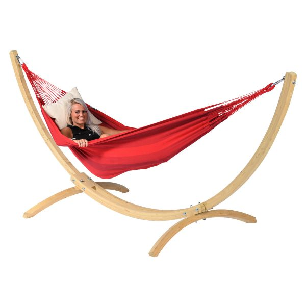 'Dream' Red Single Hammock