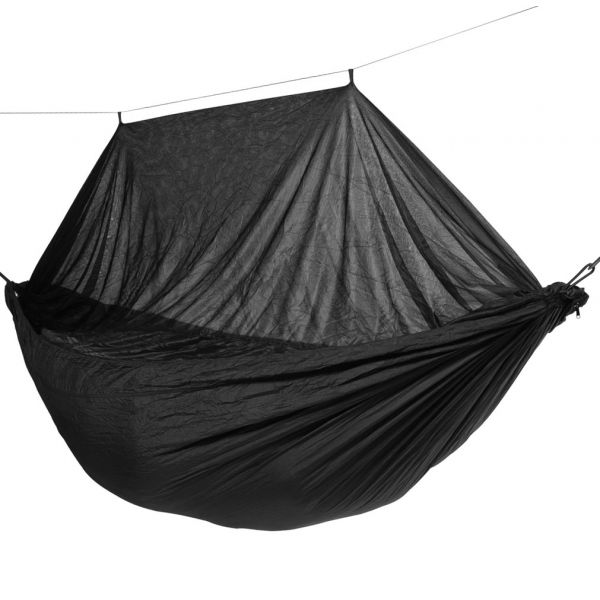 'Mosquito' Black Single Camping Hammock