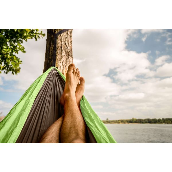 'Outdoor' Lime Single Camping Hammock