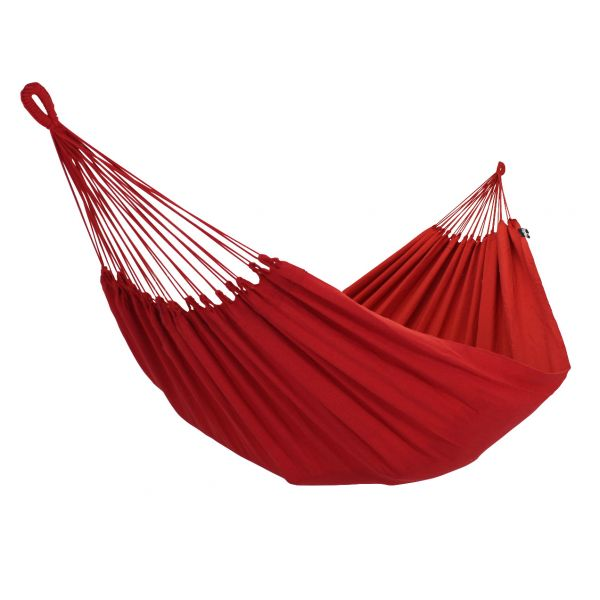 'Plain' Red Single Hammock