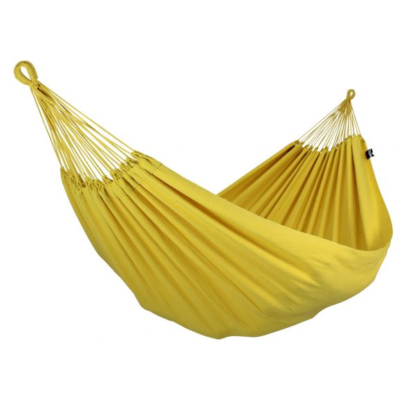 'Plain' Yellow Single Hammock