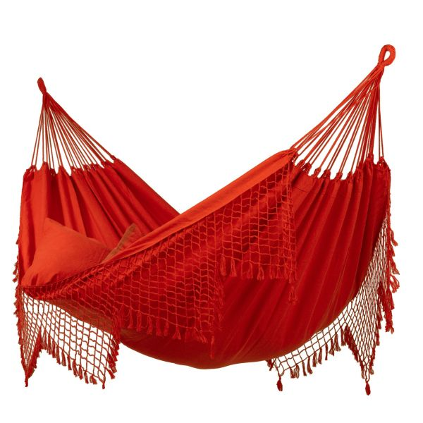 'Sublime' Red Double Hammock