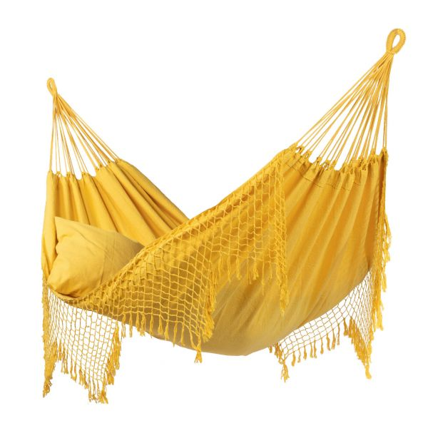 'Sublime' Yellow Double Hammock
