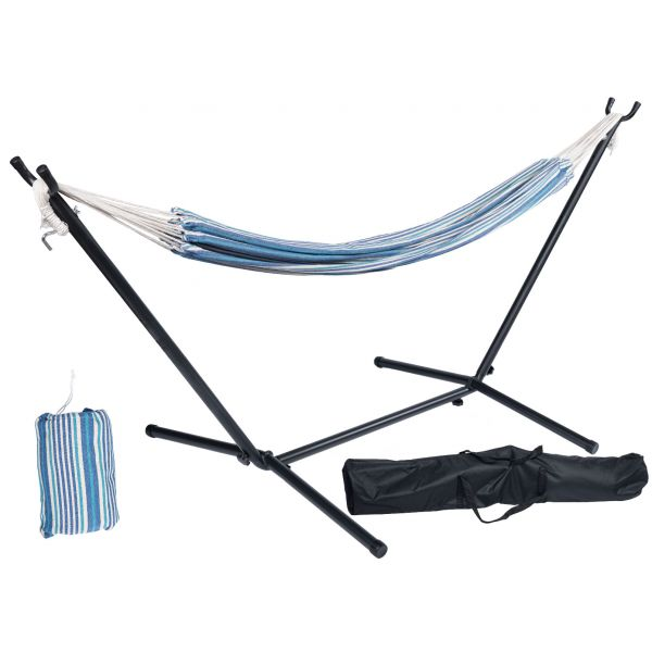 'Rustic' Single Single Hammock with Stand