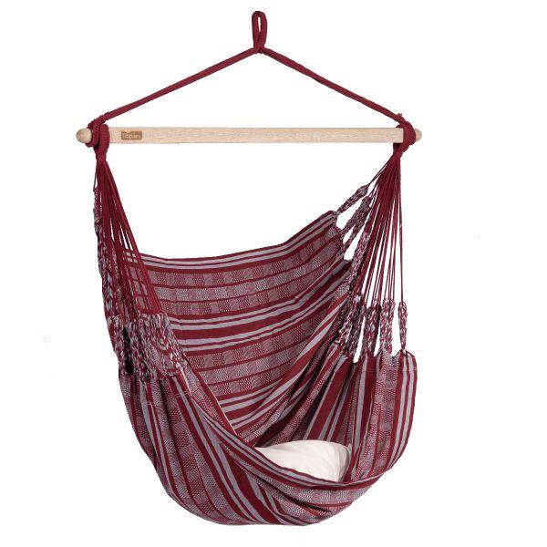 'Comfort' Bordeaux Single Hanging Chair