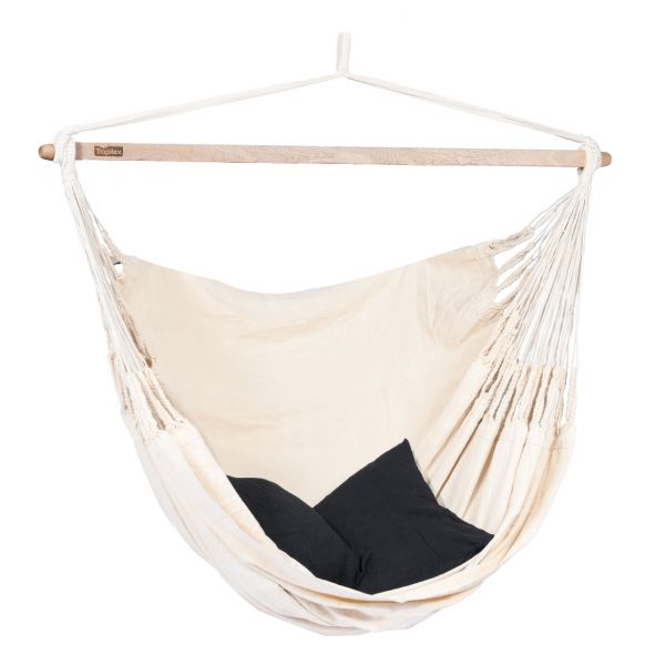 'Luxe' White Double Hanging Chair