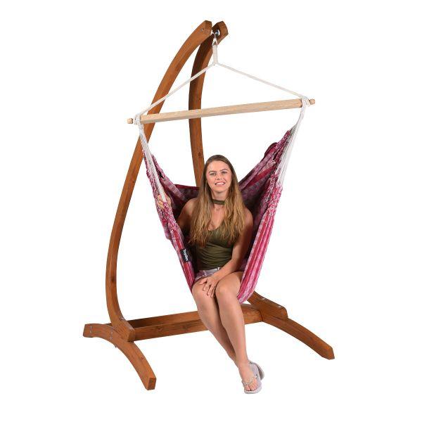 'Premium' Cherry Single Hanging Chair