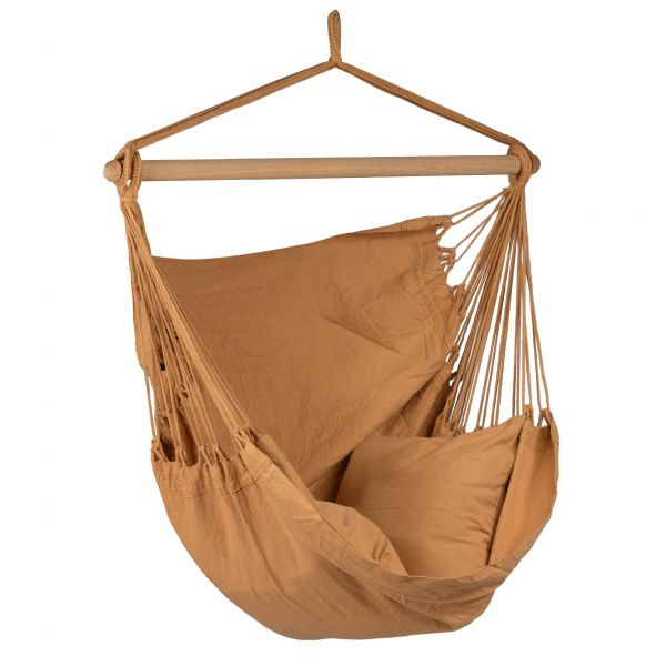 'Organic' Mocca Single Hanging Chair