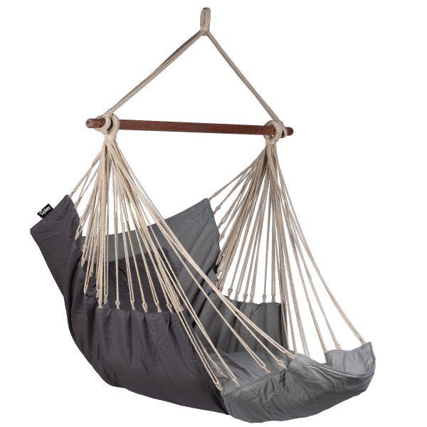 Sereno Grey Single Hanging Chair