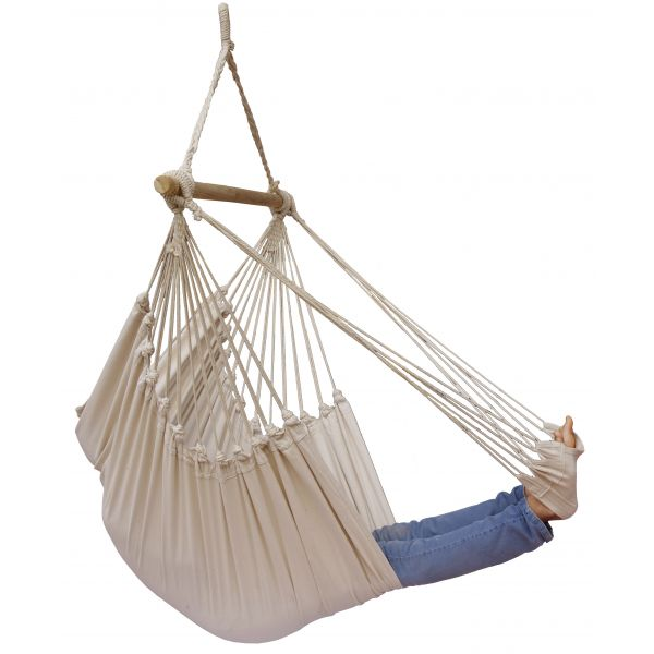 'Tropical' Natura Lounge Single Hanging Chair