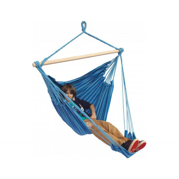 'Tropical' Ocean Lounge Single Hanging Chair