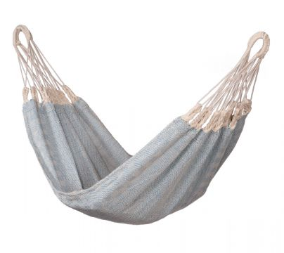 Natural Blue Baby Hammock