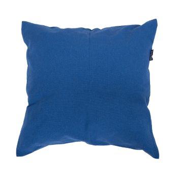 Plain Blue Pillow