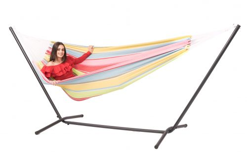 Easy & Barbuda Orient Double Hammock with Stand