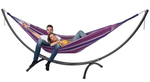 Arc & Chill Love Double Hammock with Stand