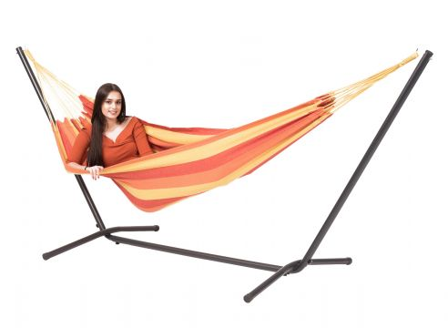Easy & Margarita Flame Single Hammock with Stand
