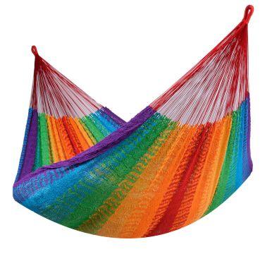 Mexico Rainbow Double Hammock
