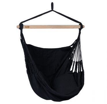 Comfort Black Single Hanging Chair