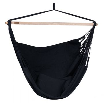 Luxe Black Double Hanging Chair