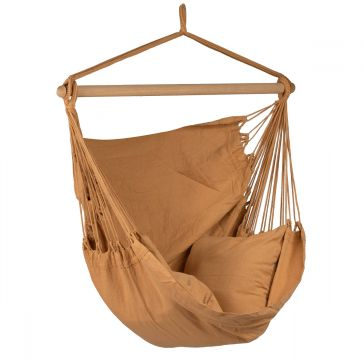 Organic Mocca Single Hanging Chair