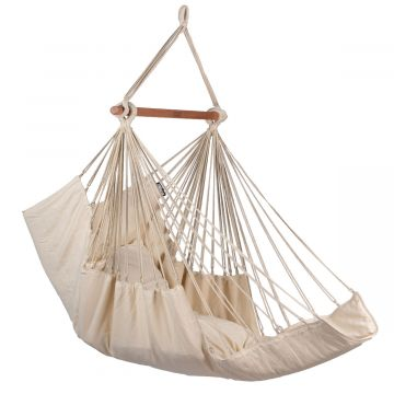 Sereno White Single Hanging Chair