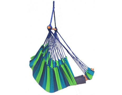 Tropical Pine Lounge Single Hanging Chair