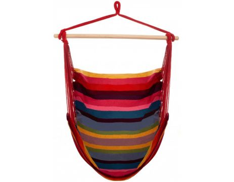 Trinidad Raspberry Single Hanging Chair