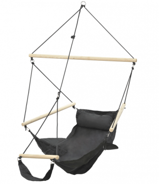 Swinger Black Single Hanging Chair