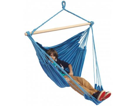Tropical Ocean Lounge Single Hanging Chair