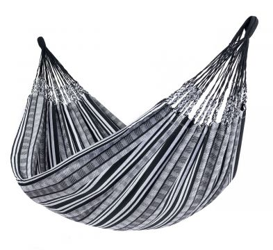 Comfort Black White Double Hammock