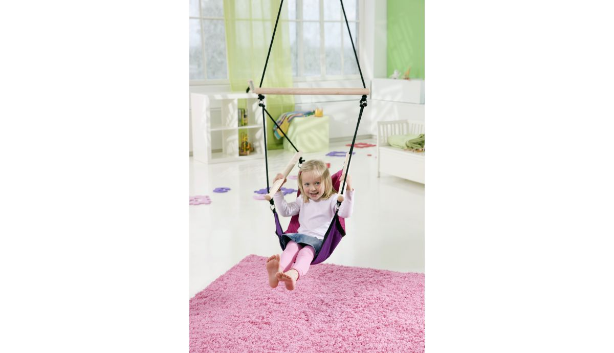 'Swinger' Pink Children Hanging Chair