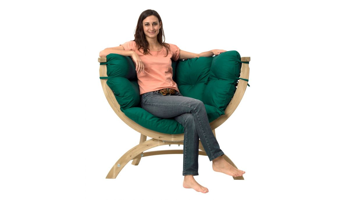 'Siena' Green Chair