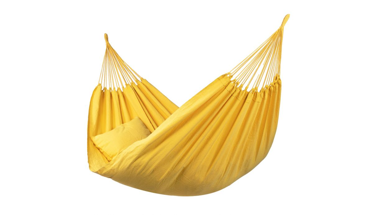 'Organic' Yellow Double Hammock