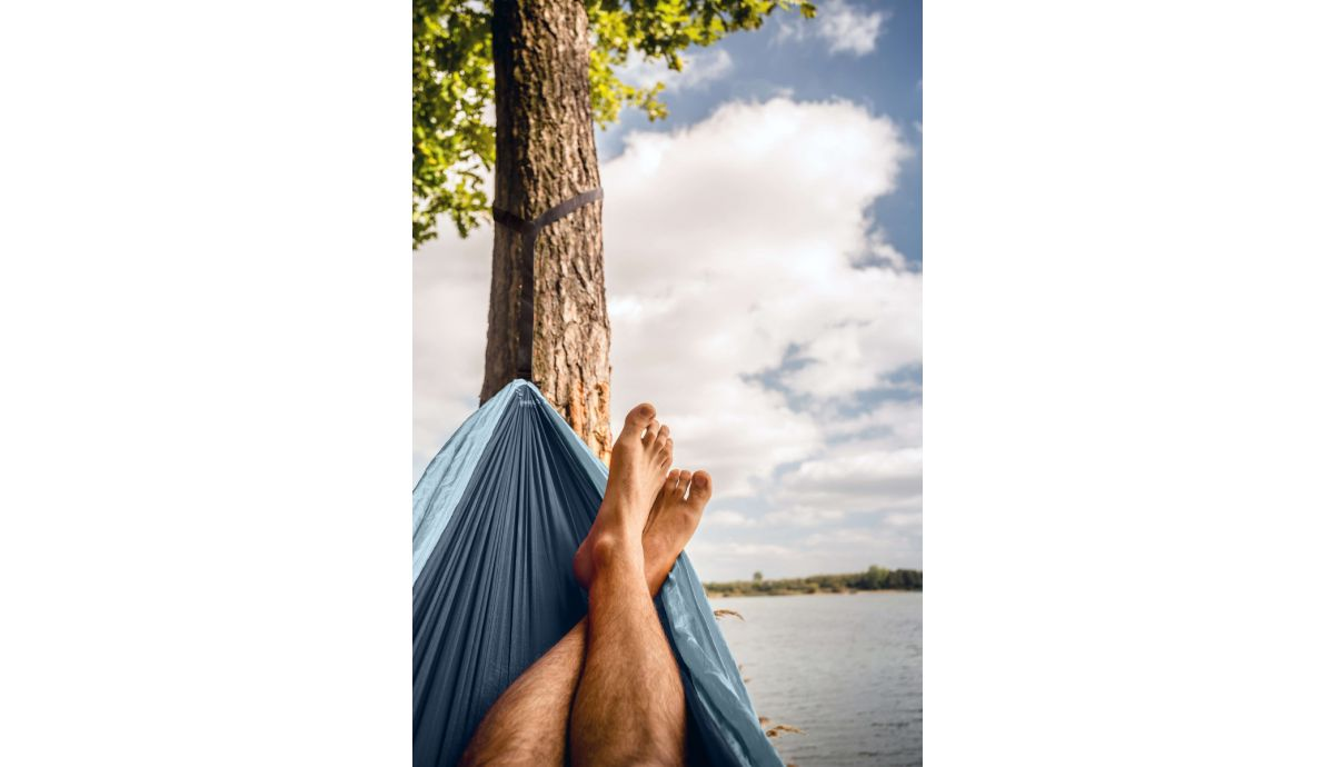 'Outdoor' Mercury Single Camping Hammock