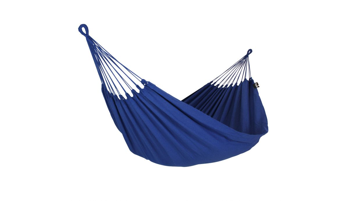 'Plain' Blue Single Hammock