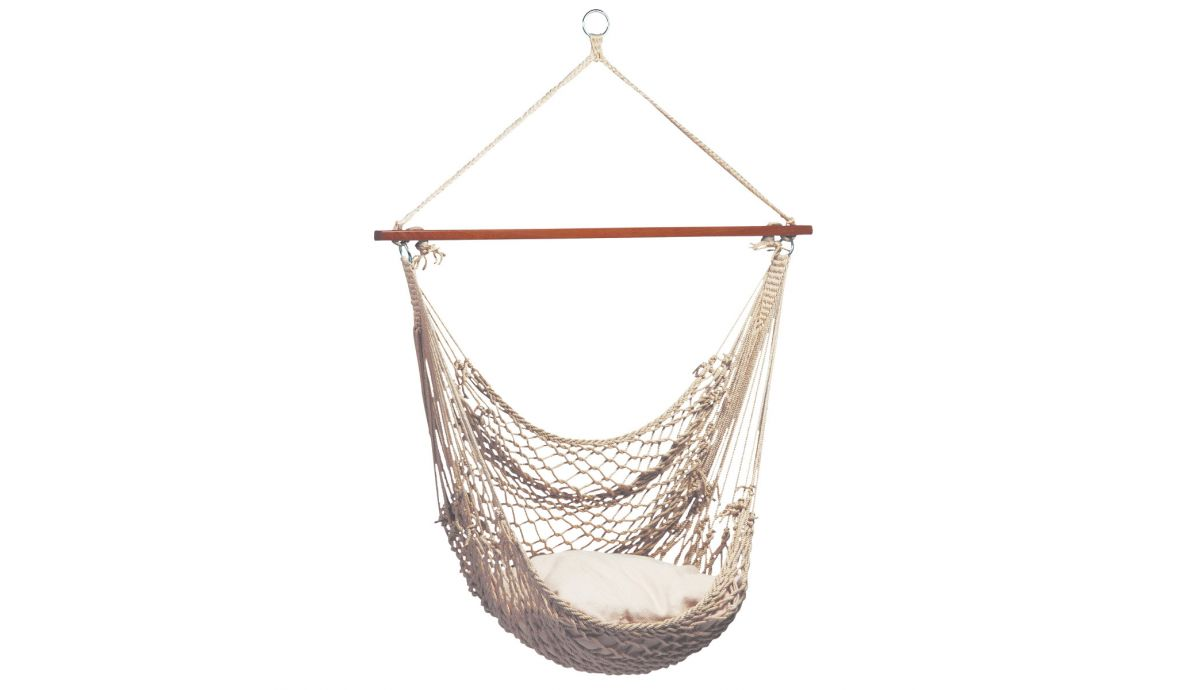 'Rope' Natura Single Hanging Chair