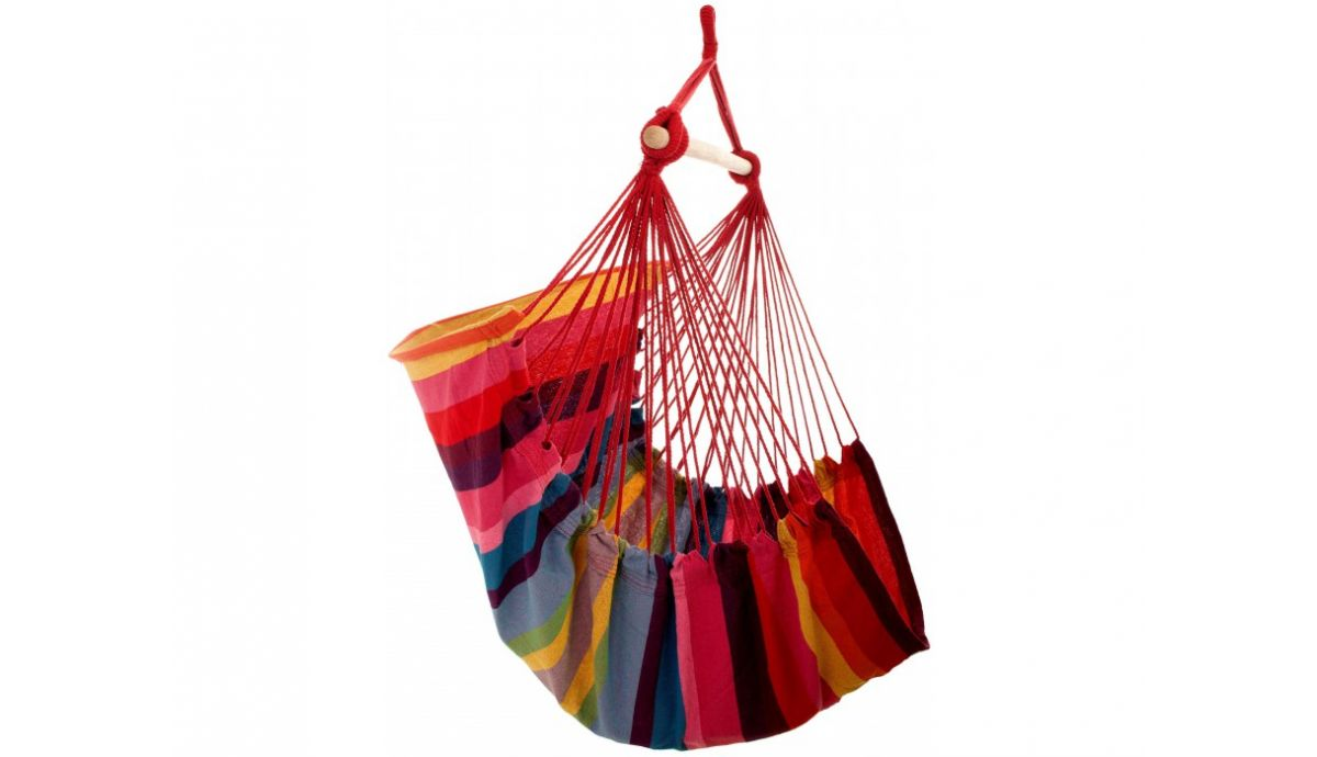 'Trinidad' Raspberry Single Hanging Chair