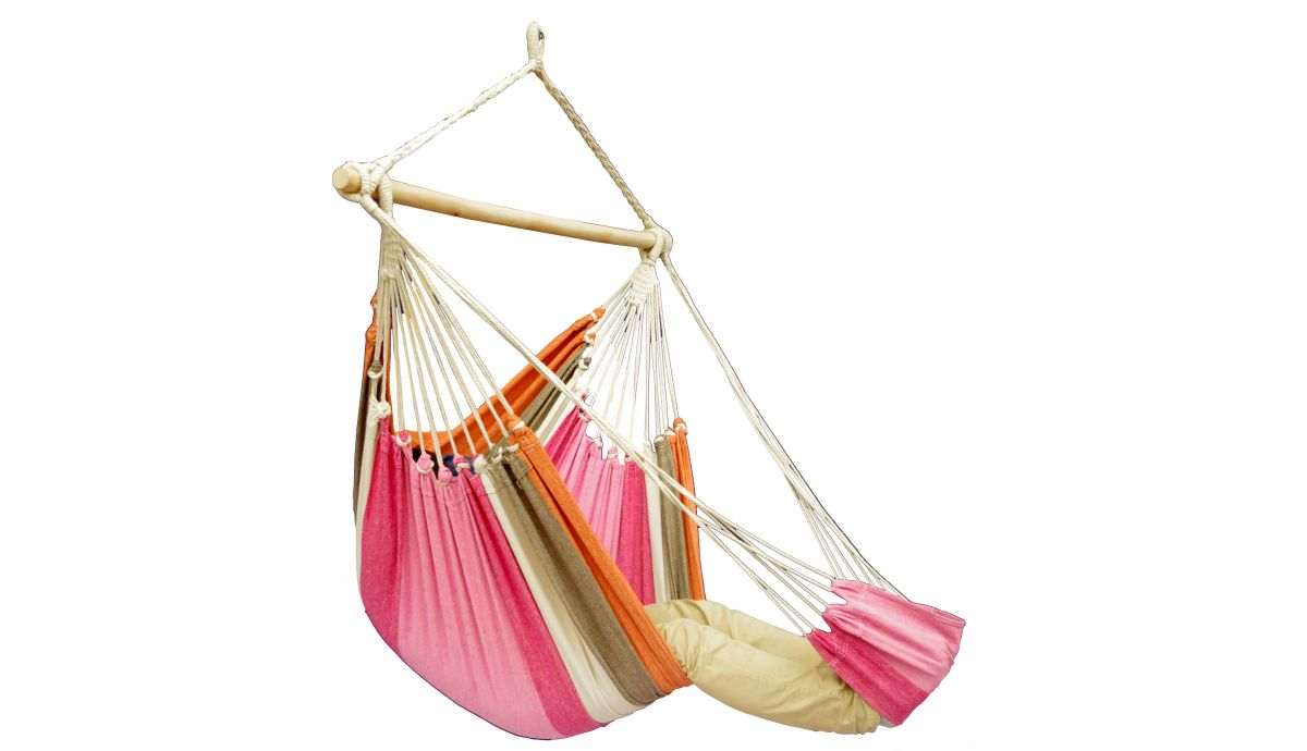 'Tropical' Lychee Lounge Single Hanging Chair