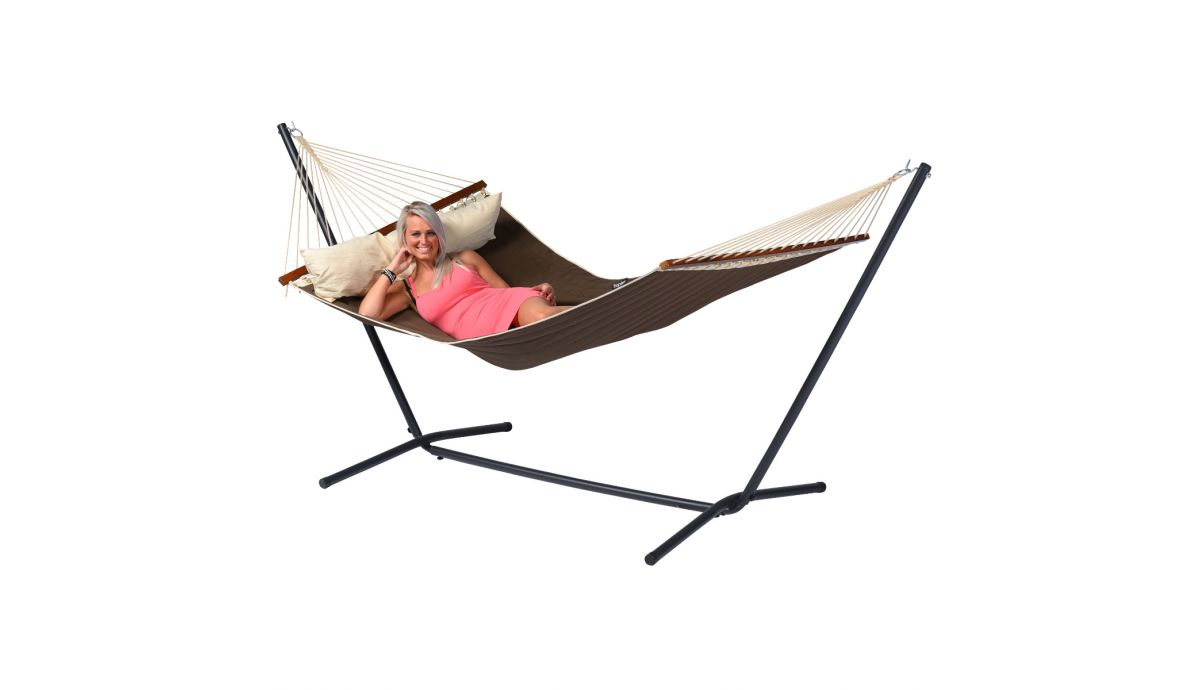 'American' Brown Double Hammock
