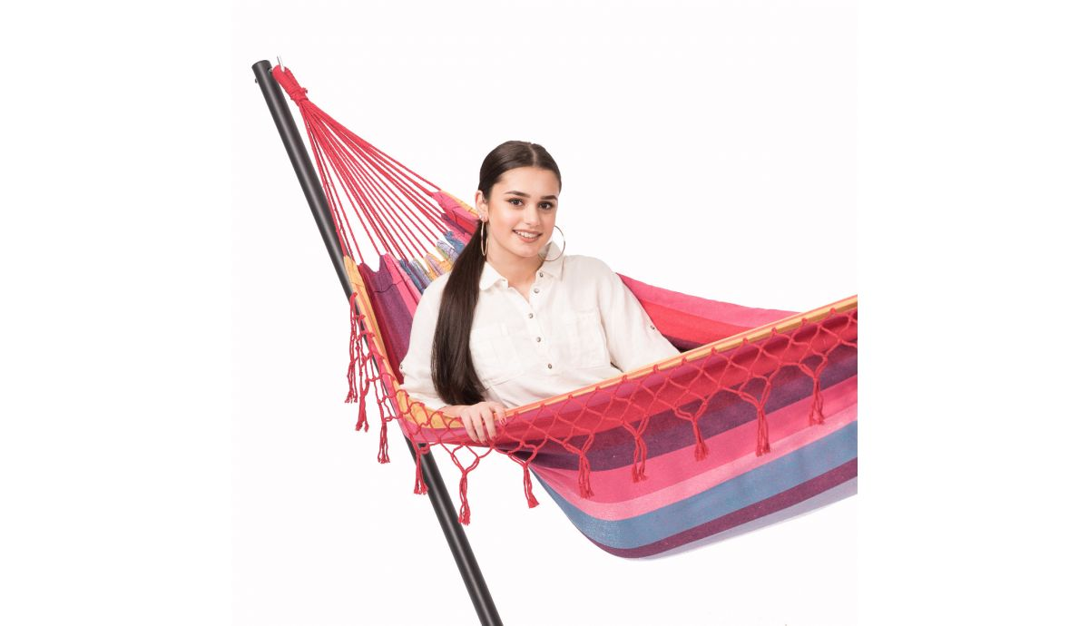 'Grenada' Raspberry Single Hammock