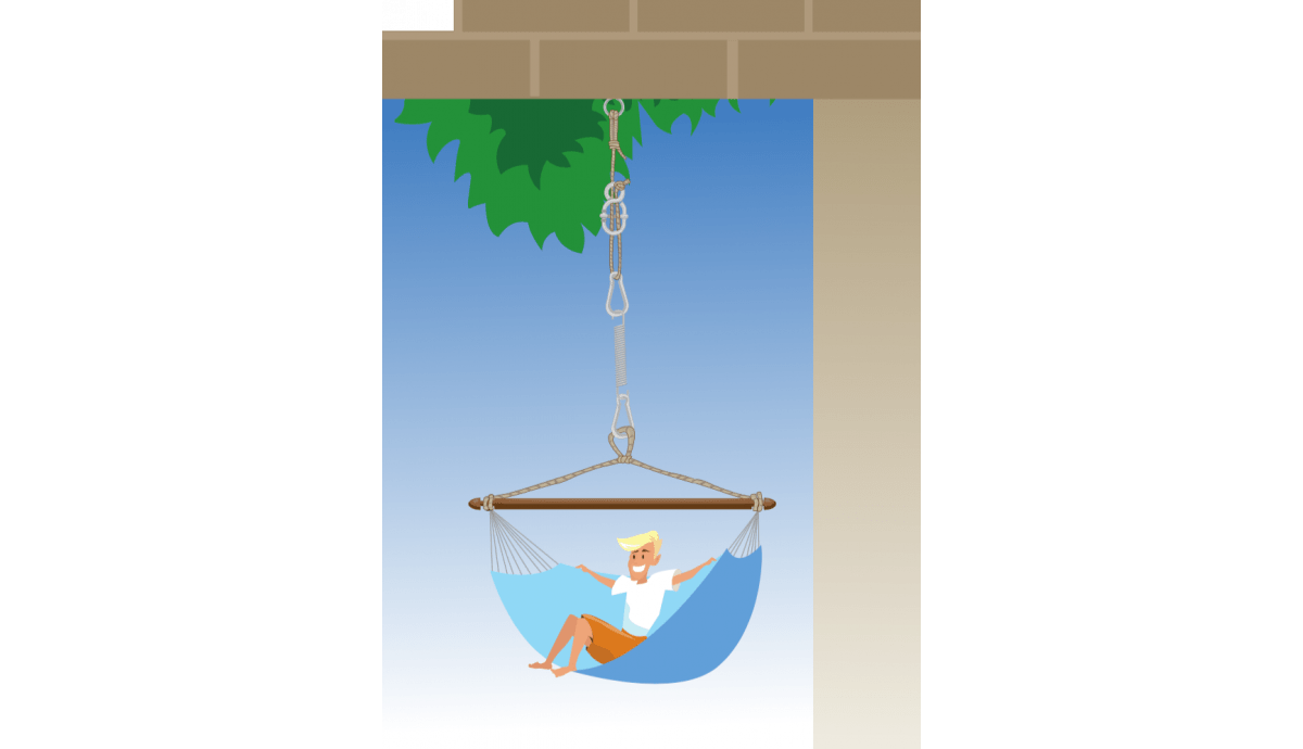 'Complete' Black Hanging Chair Fixing