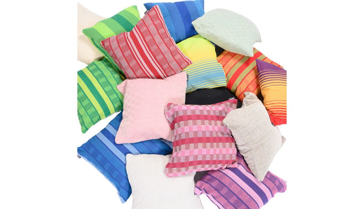 'Refresh' Rainbow Pillow