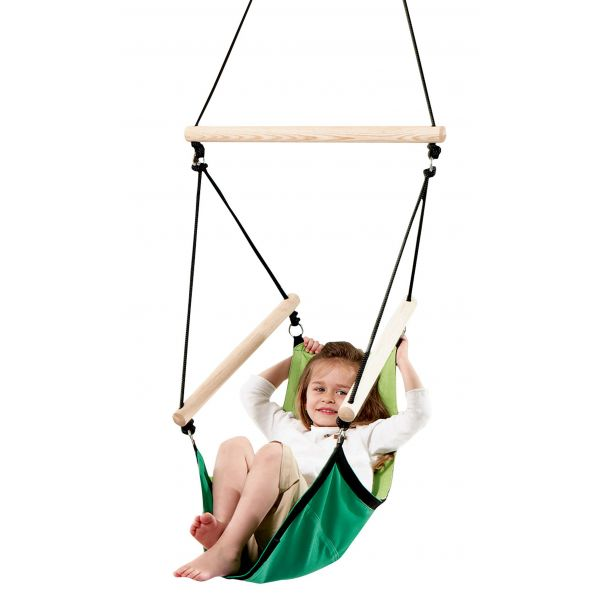 'Swinger' Green Children Hanging Chair