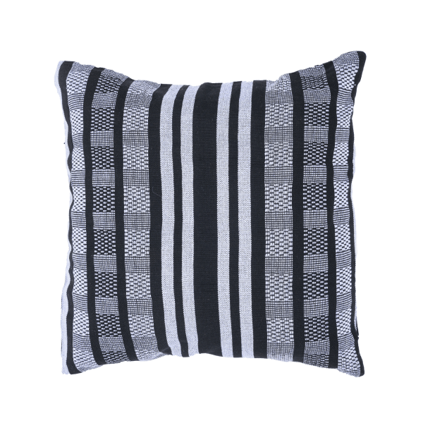 'Comfort' Black White Pillow